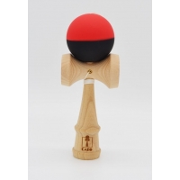 Kendama KARO Half GRIP - Red and black