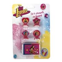 Set 4 stampile cu tusiera Soy Luna