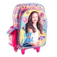 """Trolley 16"""" 3D Soy Luna SLU27301 - Troller Disney Original"""