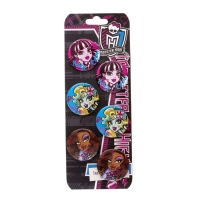 Set 6 insigne Monster High