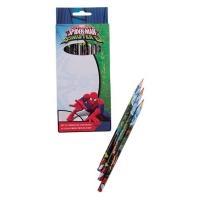 Set 12 creioane colorate Spiderman SM00106