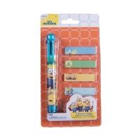 Pix 6 culori + memo stick Minions MO3916