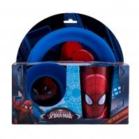 Set dejun 3 piese Spiderman SMA44435