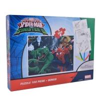 Puzzle 100 piese Spider-Man