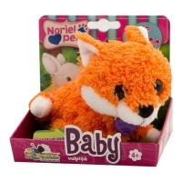 Jucarie de plus interactiva Noriel Pets Baby - Vulpita