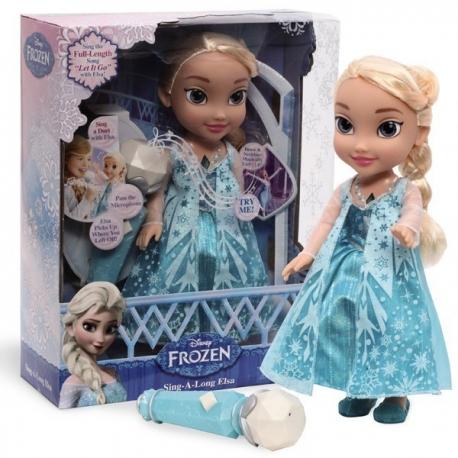 Papusa Elsa cu microfon (Elsa Karaoke)