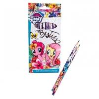 Set 12 creioane colorate My Little Pony