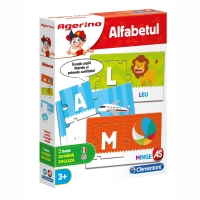 Joc educativ Agerino - Alfabetul