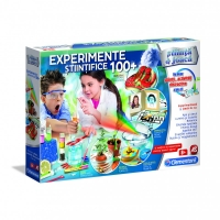 Set educativ 100 experimente stiintifice - Clementoni