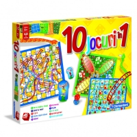 Set jocuri educative 10 in 1, Clementoni