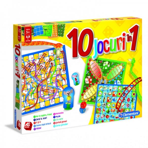 Set jocuri educative 10 in 1, Clementoni