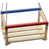 Leagan pentru copii, din lemn natur - mic
