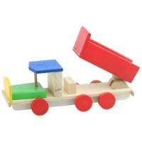 Camioneta basculanta din lemn