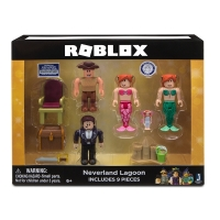 Set 4 figurine Roblox Neverland Lagoon