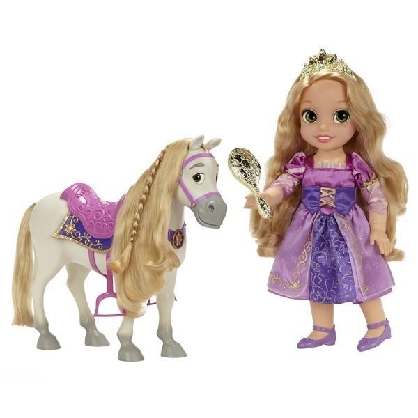 Papusa Disney Rapunzel si Maximus