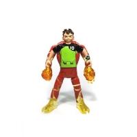 Figurina transformer Ben to Heatblast Ben 10