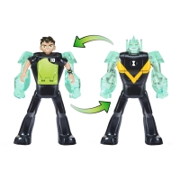 Figurina transformer Ben to Diamond Head Ben 10