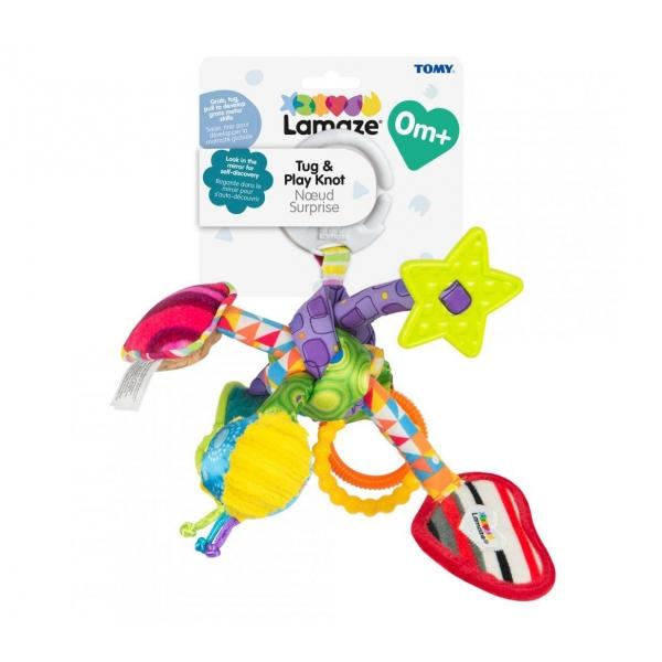 Jucarie zornaitoare bebe Lamaze - multifunctionala