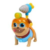 Figurina Puppy Dog Pals Rolly cu instrument de gaurit si casca