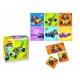 Puzzle in cutie de lemn - Mickey si pilotii de curse