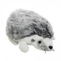 Jucarie de plus arici alb, 15 cm