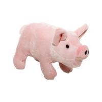 Jucarie de plus porc, 14 cm