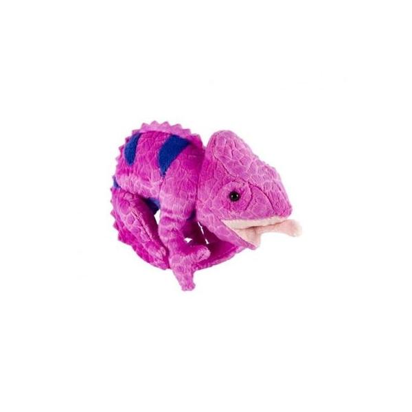 Jucarie de plus cameleon, 16.5 cm