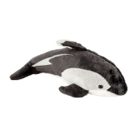 Jucarie de plus delfin, 23 cm