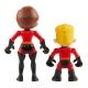 Set 2 figurine Fata Elastica si Dash 7.6 cm Incredibles 2