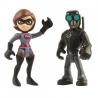 Set 2 figurine Fata Elastica Si Omul Cu Masca - The Incredibles