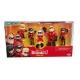 Set 5 figurine Incredibles 2 - Incredibilii