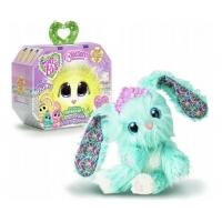 Jucarie de plus Fur Balls - Blossom bunnies Turcoaz