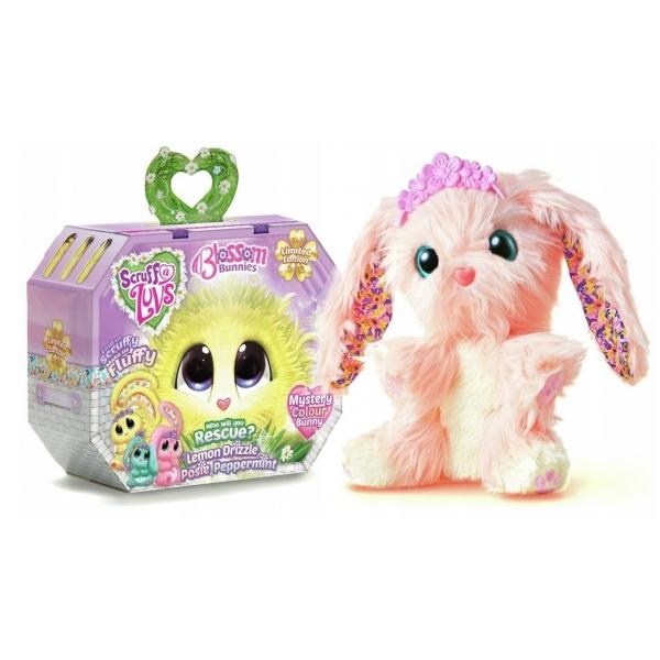 Jucarie de plus Fur Balls - Blossom bunnies Roz