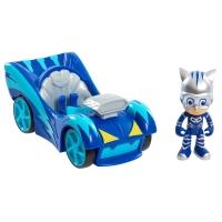 Set figurina Eroi in pijama, Pisoi si masina Speed Booster