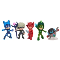Set Figurine Pj Masks Super Moon 5 Pack Collectible
