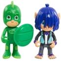 Set 2 figurine Eroi in pijama - Sopi si Kevin