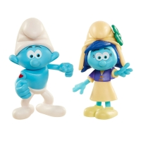Set 2 Strumfi - Hefty Smurf si Smurfstorm