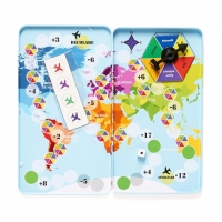 Joc magnetic educativ - Calatorie cu avioane