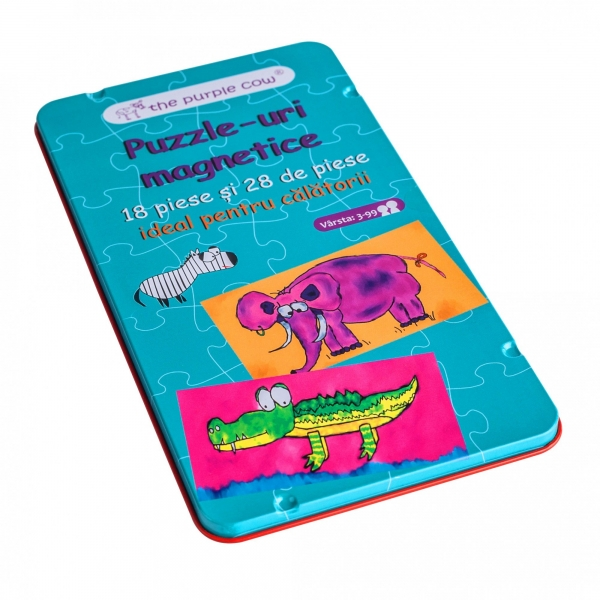 Joc magnetic Momki - Puzzle