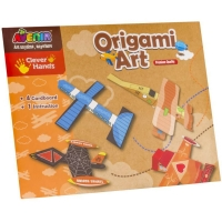 Joc creativ Momki Arta origami - 4 planse, 3 avioane