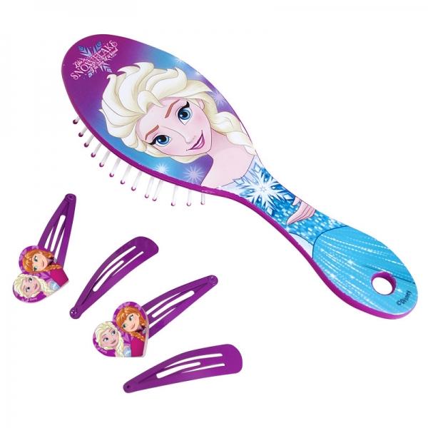 Perie si agrafe de par Frozen - Elsa