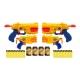 Set 4 arme de jucarie cu proiectile si accesorii - X-Shot