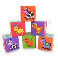 Set de Joaca Cuburi Amuzante Cu Animalute Galt