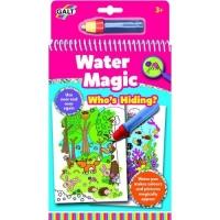 Galt Water Magic: Carte de colorat Ghici cine se ascunde?