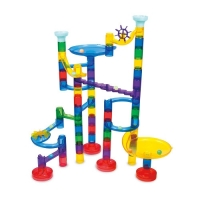 Set de constructie Super Marble Run -  Reflectorizant