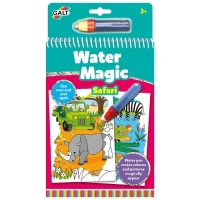Water Magic Animals - Carte Colorat Safari