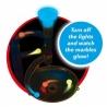 Set de Curse cu Bilute de Sticla Marble Run Fosforescent