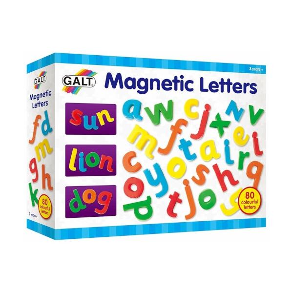 Set 80 de Litere Magnetice Galt