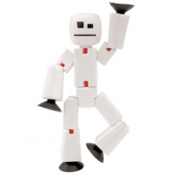 Figurina Stikbot Single - Alb