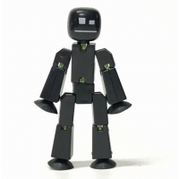 Figurina Stikbot Single - Negru